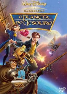 Planeta do Tesouro Dublado Jim Hawkins (Joseph Gordon-Levitt) é um adolescente que encontra o mapa de um grande tesouro, escondido tempos atrás por um pirata espacial.