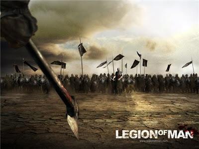 Legion of Man Um imenso exército de 50000 cavaleiros, guerreiros e mutantes, com você como o último defensor contra este ataque aparentemente impossível.