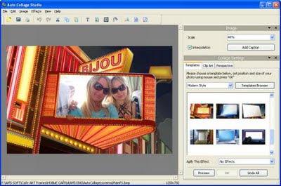 AMS Auto Collage Studio 3.0 (portable) Tenha suas fotos digitais transformadas em belas imagens e formas elegantes de obra de arte. Fazendo colagens surpreendentes se tornará fácil e divertido com o Auto Collage Studio. Você vai gostar de trabalhar nele e vai encontrar ainda as características fácil de trabalhar.