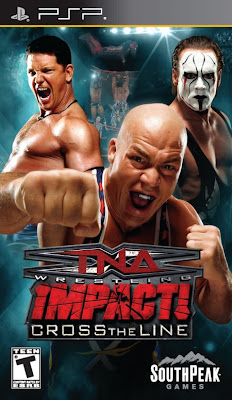 Download TNA Impact Cross The Line PSP