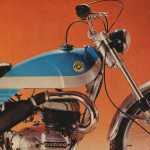Bultaco Alpina 250 cc.