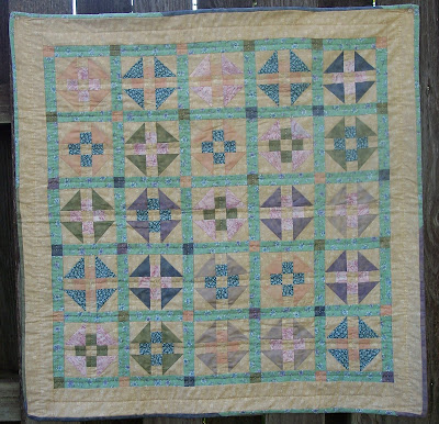 Quilt from Book Seven of The Quilt Ladies Book Collection, Love at Any Age