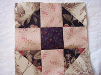 how to pattern for shoo fly quilt block