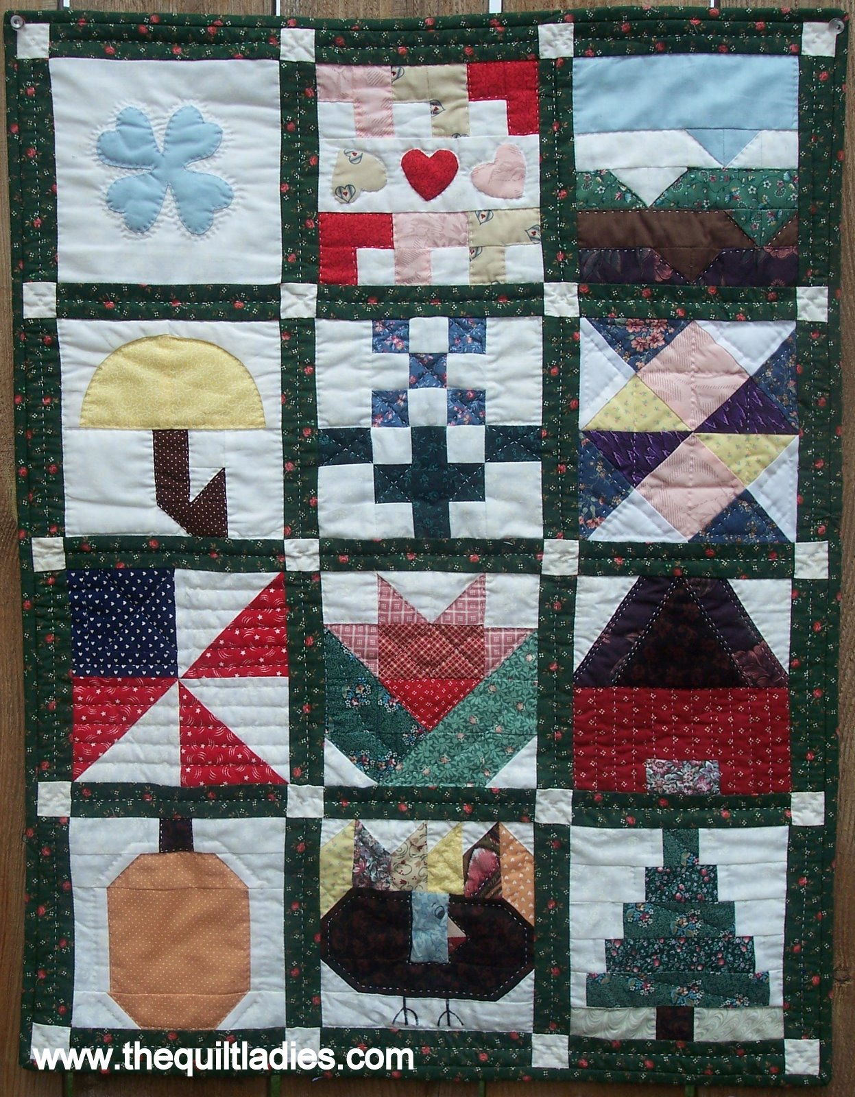 Quilt Guild Newsletter Ideas : The Quilt Ladies Book Collection: Little Quilt Block of the Month from Guild Newsletter