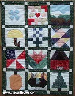Little Quilt Block of the Month from Guild Newsletter
