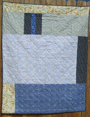 Crazy Man's Quilt is Finished