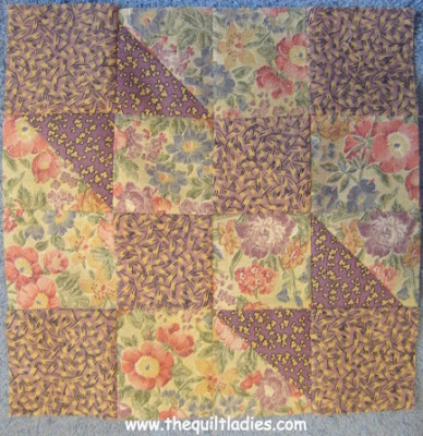 tutorial on how to make a quilt block