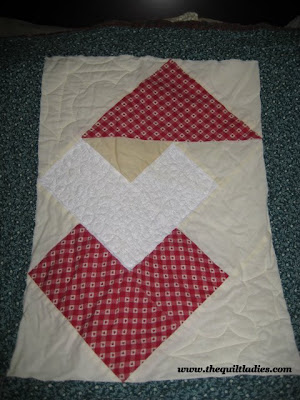Santa Quilt for The Holidays