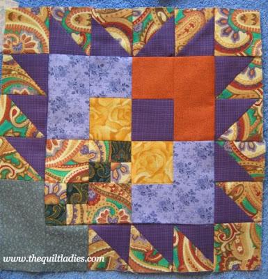 Paisley Quilt Blocks Done