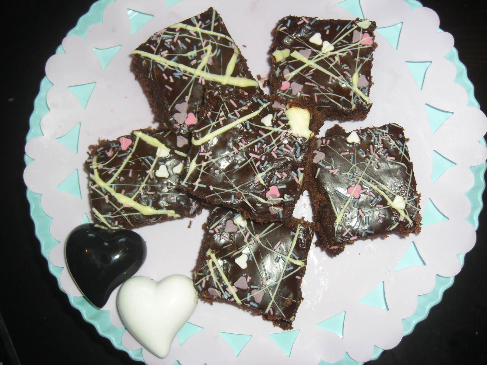 kärleksmums med vit choklad