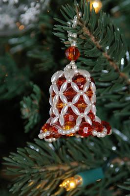 ornament bells santa claus and