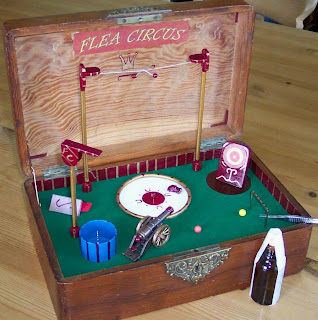 Cigar Box Flea Circus