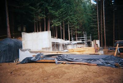 Headquarters under construction Oregon Caves National Monument Oregon