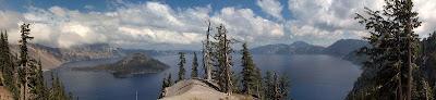 Wizard Island Crater Lake National Park Oregon