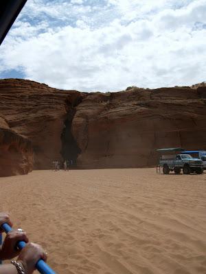 Opening to Antelope Slot Canyon Page Arizona