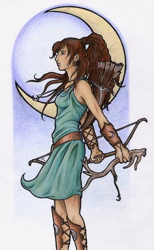 Veja uma ficha de personagem Artemis_by_kaian