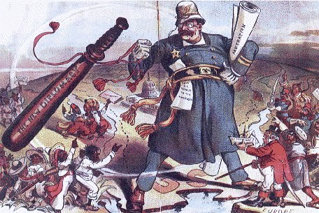 a comparison of roosevelts big stick diplomacy and tafts big dollar diplomacy The outgoing president theodore roosevelt laid the foundation for this approach in 1904 with his taft's dollar diplomacy not only allowed the united states to.