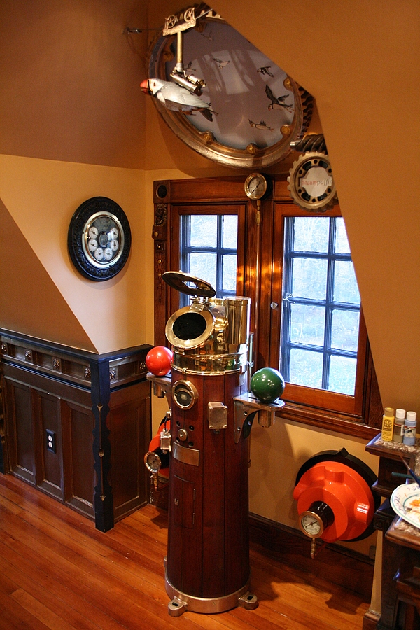 Yours In A White Wine Sauce Steampunk House