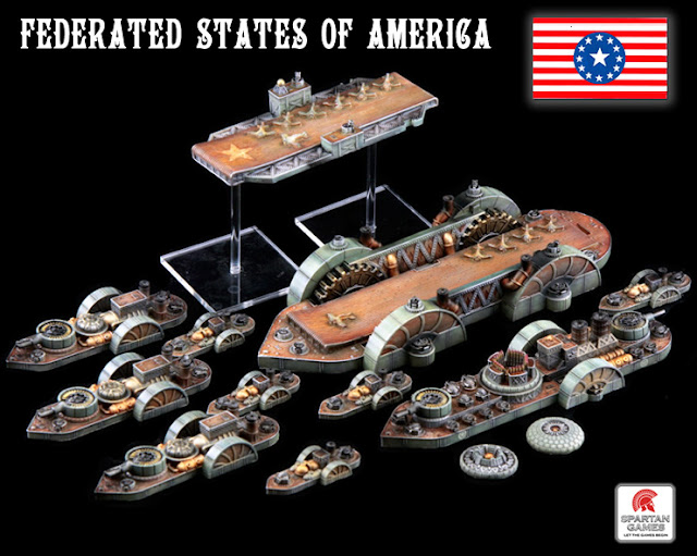 Dystopian Wars (Spartan Games) FSA_battle_group