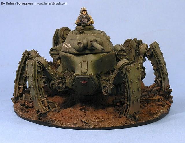 Man Cave Tank : The man cave soviet spider tanks