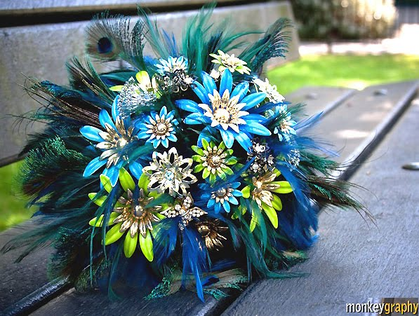 If you are interested this lovely bouquet is currently available in my Etsy