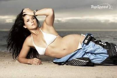 Danica Patrick Bikini on Danica Patrick