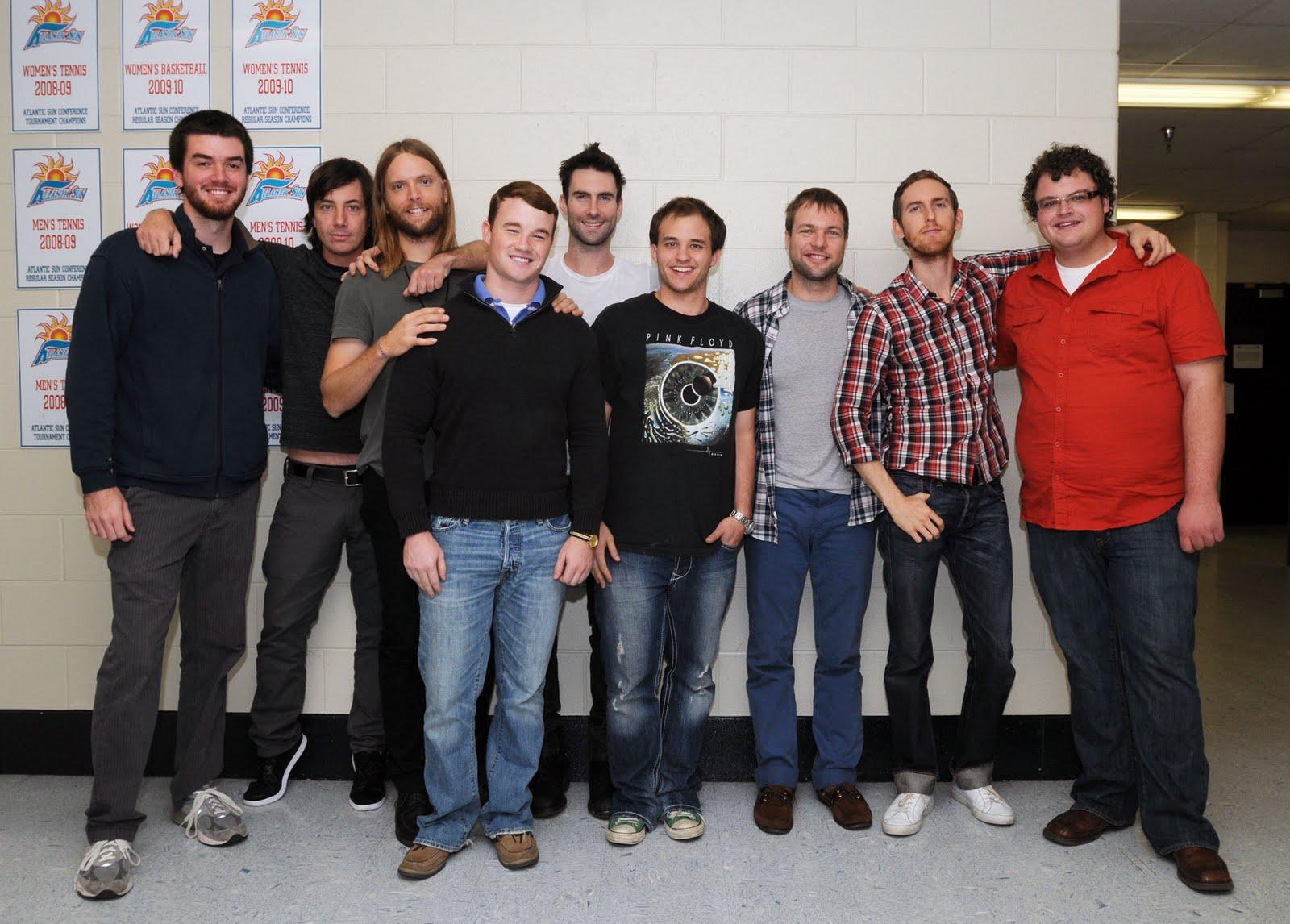 Sga concert photos maroon 5 meet and greets maroon 5 meet and greets m4hsunfo