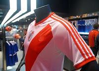 Camiseta de River Plate en el museo