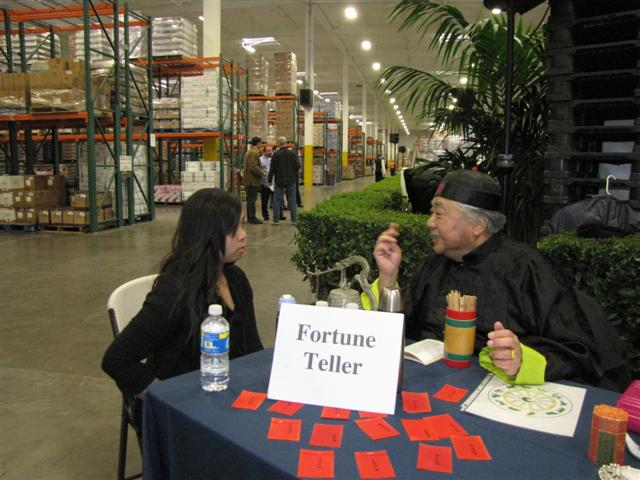 Asian fortune teller