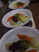 Bouillon de légumes et mélano