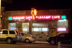 photo of the Pleasant Cafe, Roslindale, MA