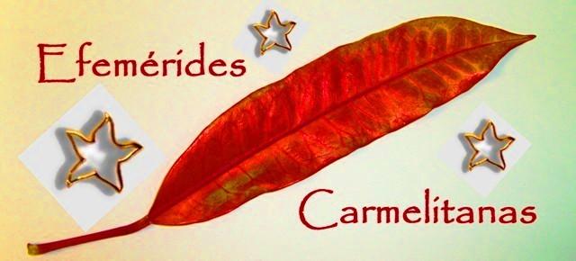 Efemérides Carmelitanas