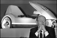 Sir Clive Sinclair's C5 launch