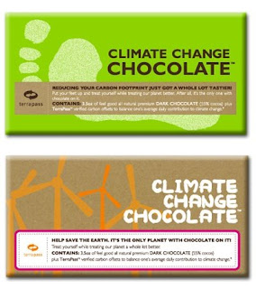 climate change chocolate