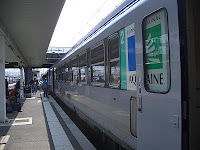 Regional train in Bordeaux