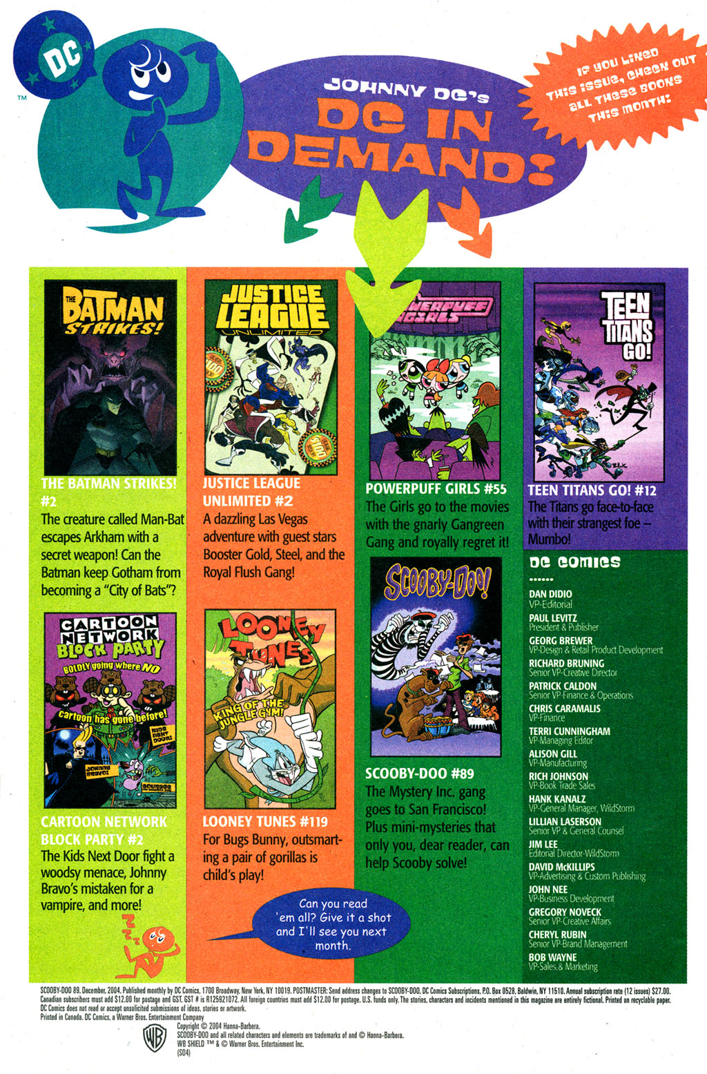 Read online Scooby-Doo (1997) comic -  Issue #89 - 23