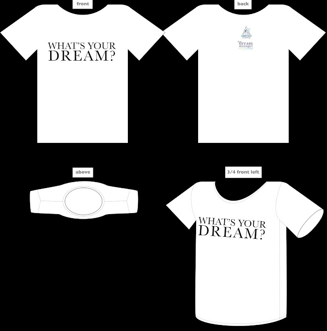 Amend Dream Manager Tshirt