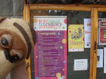 en el Festival Internacional de Titiriteros Andariegos
