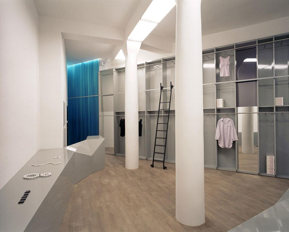 retailsquare andreas murkudis store. Black Bedroom Furniture Sets. Home Design Ideas