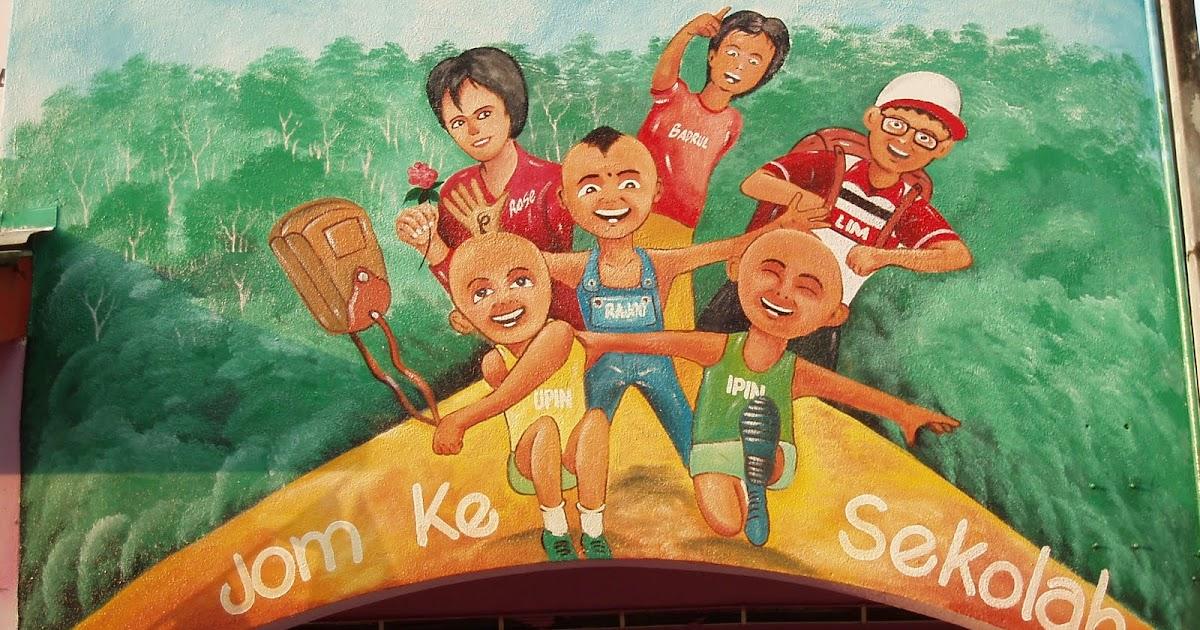 Pelukis mural shah alam tadika permata hati taman for Mural kartun