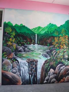 Pelukis mural shah alam mural sekolah rendah keb for Mural sekolah rendah