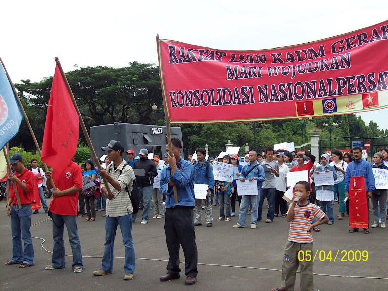 Lawan Pemilu Elit 2009, Bangun Persatuan Rakyat dan Kaum Gerakan