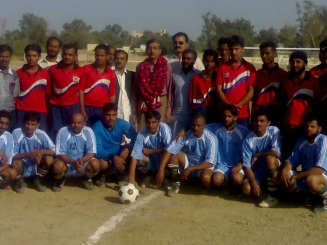 king baloch F.C Nawab shah v/s jhole lal F.C Nawab shah