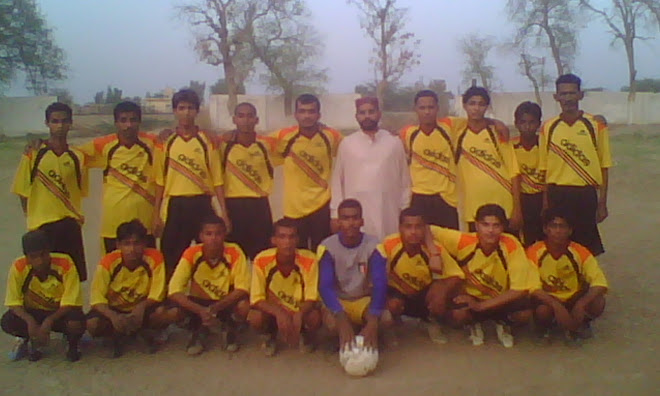 Group Photo With Team Manager Mr: RABNAWAZ ZERDARI