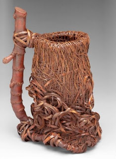 Japanese bamboo art of Nagakura Kenichi on exhibit at TAI Gallery