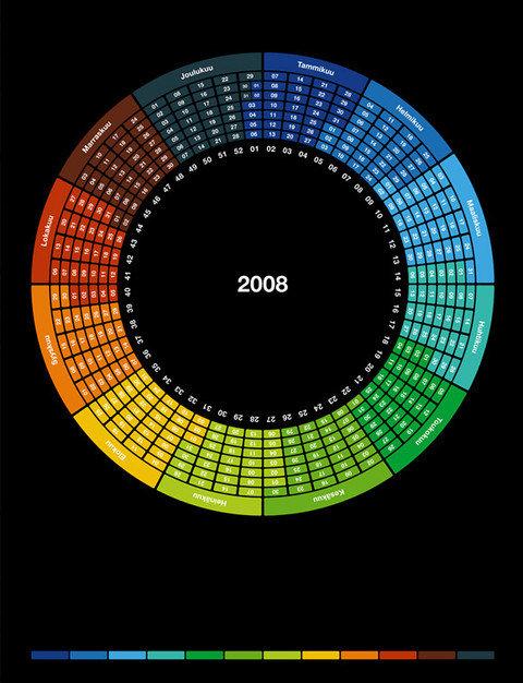Desain Kalender Yang Unik [ www.BlogApaAja.com ]