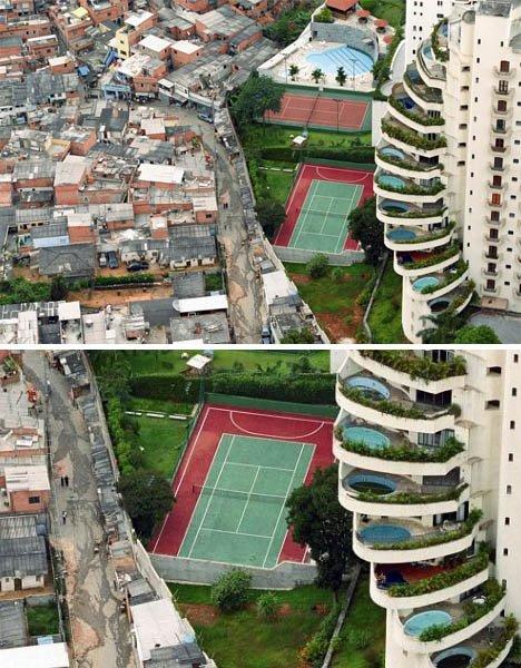 Foto Jurang Antara Kaya Dan Miskin Di Jagat Raya [ www.BlogApaAja.com ]