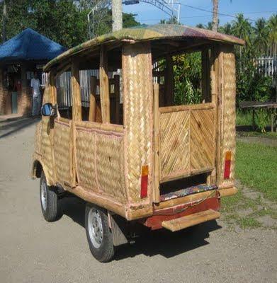 Inilah Taksi Bambu Dari Filipina [ www.BlogApaAja.com ]