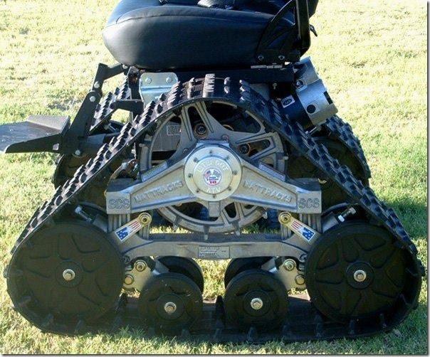 kursi roda yang bisa di gunakan untuk berbagai medan