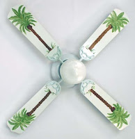 22 beach home decor ideas - Beach themed ceiling fan ...